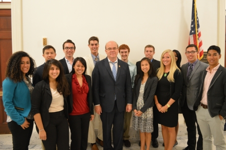 Summer 2014 Students with Congressman Jim McGovern