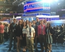 Our SIWP & NAPLP on the DNC Floor in Philadelphia