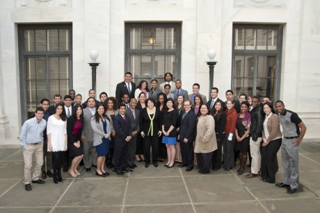 Semester in Washington Politics students with Supreme Court Justice Sonya Sotomayor