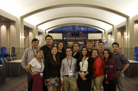 SIWP and NAPLP students at the National College Democrats Convention