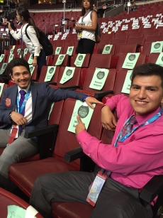 NAPLP Students at DNC