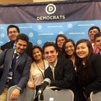 SIWP and NAPLP students at the Native Council Meeting at the DNC
