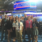 SIWP and NAPLP students on the Convention Floor
