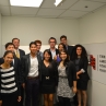 Semester in Washington Politics students with American Conservative Union Executive Director Dan Schneider