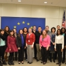 Semester in Washington Politics students at the European Union
