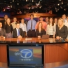 Semester in Washington Politics students on the set of ABC 7 News