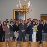 Semester in Washington Politics students with Supreme Court Justice Antonin Scalia